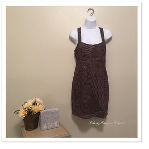 Free People Brown Jumper Dress Size Small
